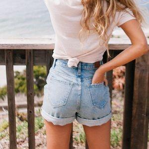 64ecd10a4f Urban Outfitters Shorts | Bdg Mom Highrise Denim Short | Poshmark